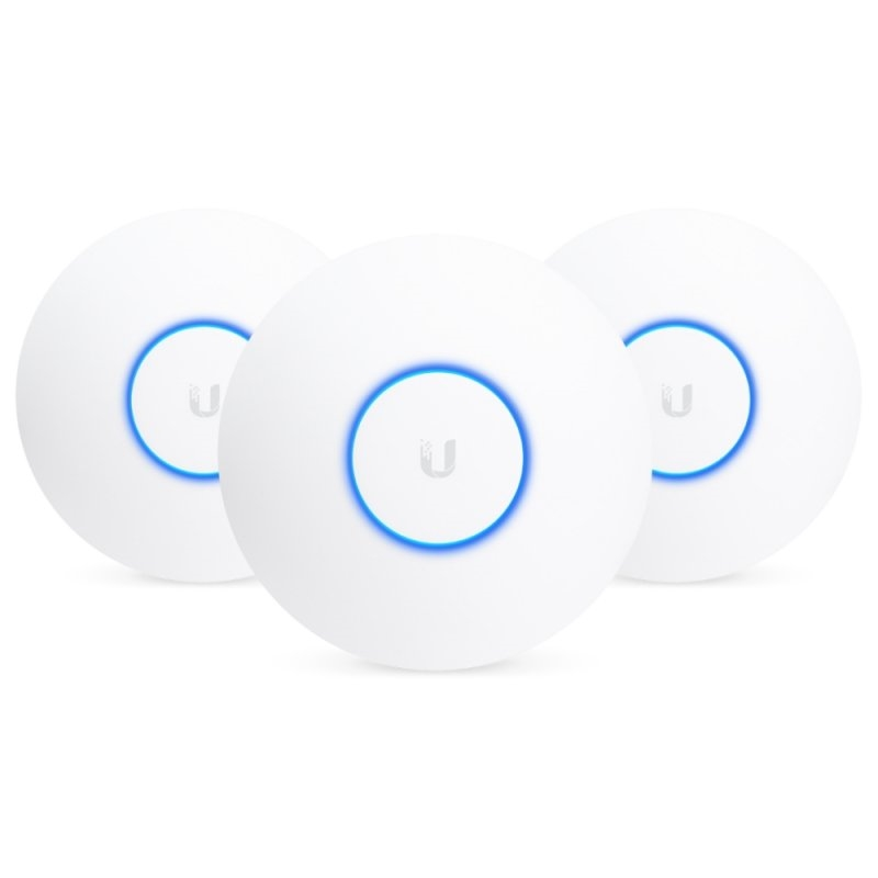 Ubiquiti UniFi UAP-nanoHD Dual Band PoE Pack 3