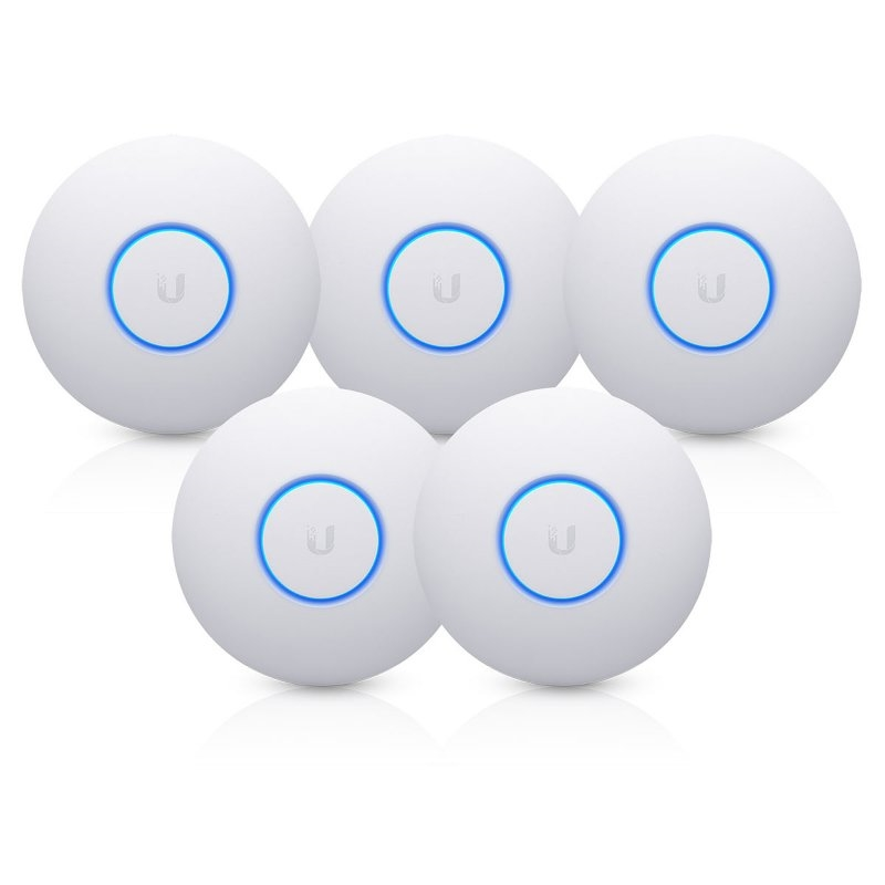 Ubiquiti UniFi UAP-nanoHD Dual Band PoE Pack 5