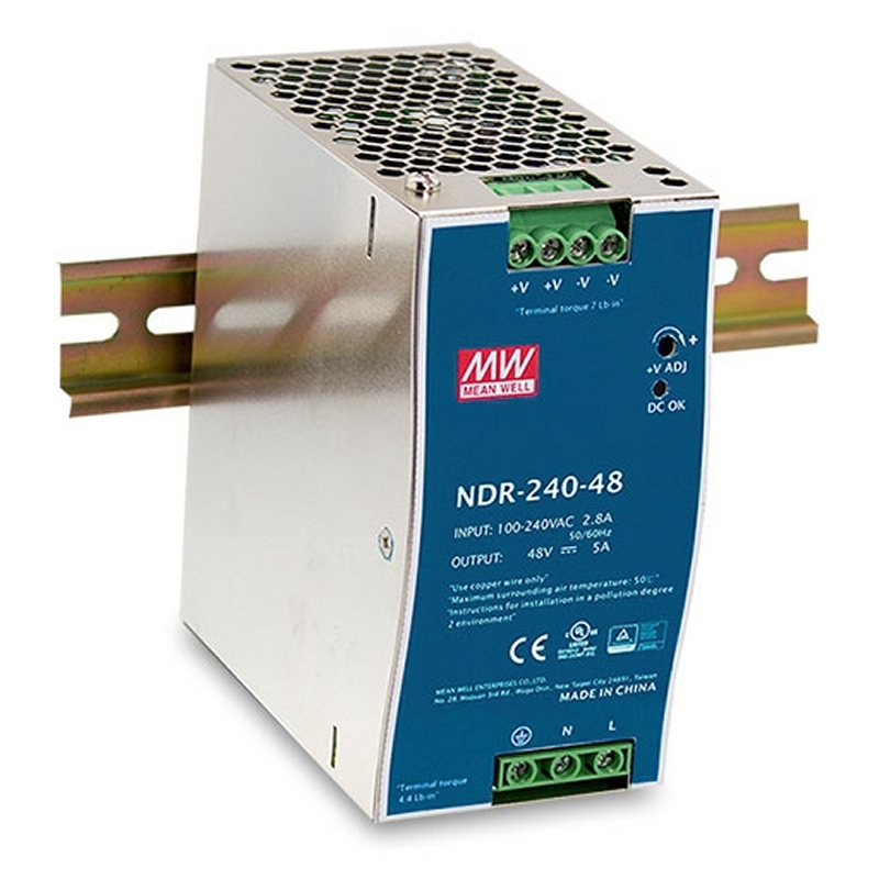 D-Link DIS-N240-48 Adaptador 240W 48VDC DIN PSU