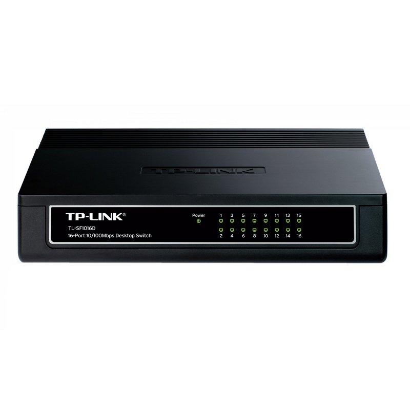TP-LINK TL-SF1016D Switch 16x10/100Mbps Mini