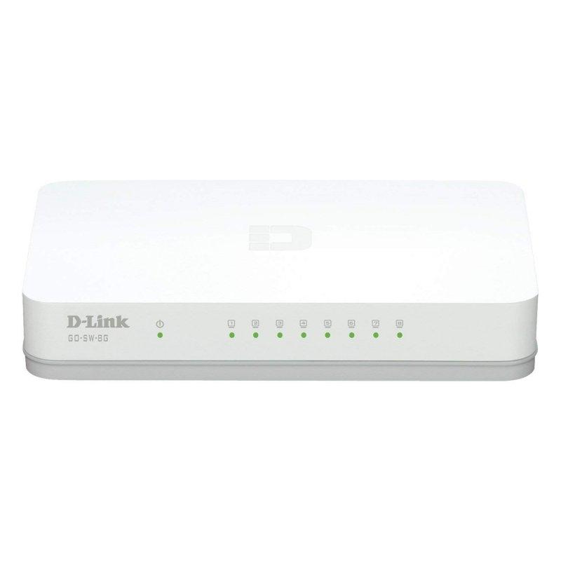 D-Link GO-SW-8G Switch 8xGB Mini