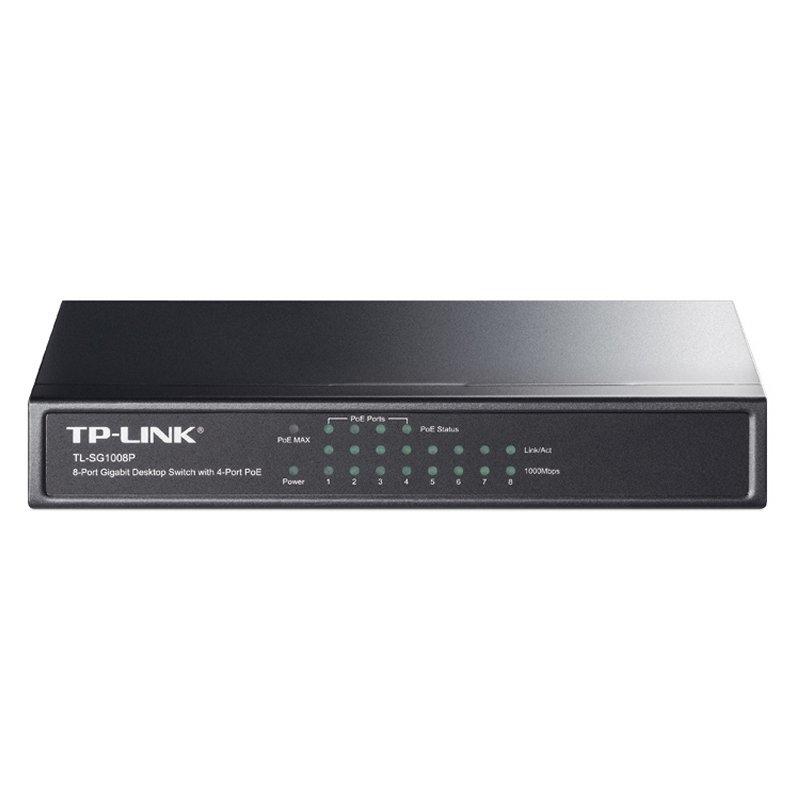 TP-LINK TL-SG1008P Switch 8xGB 4xPoE