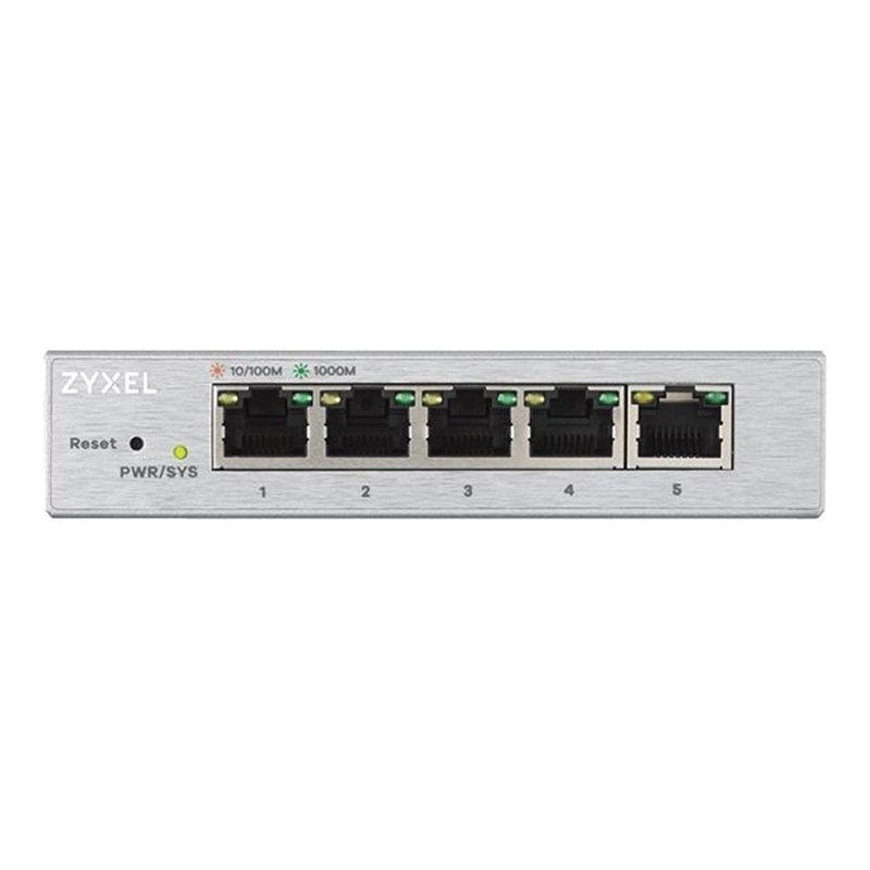 ZyXEL GS1200-5 Switch 5xGB Metal