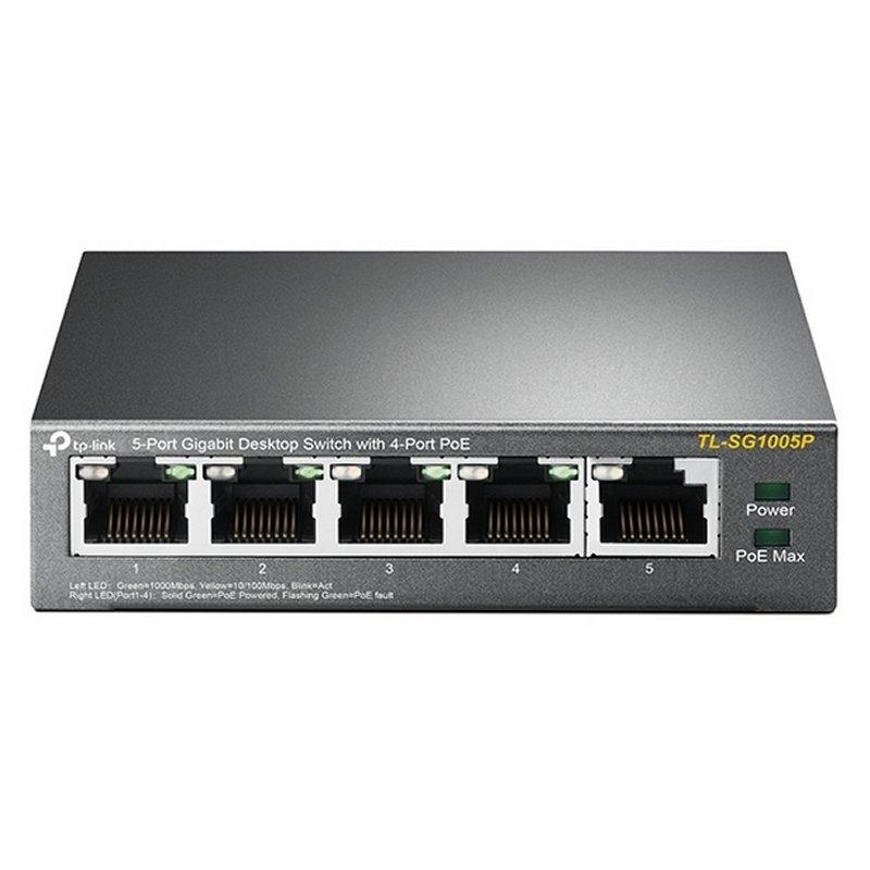 TP-LINK TL-SG1005P Switch 5xGB 4xPoE