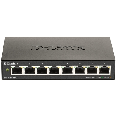 D-LINK DGS-1100-08V2 SWITCH 8XGB AUTO-NEGOTIATING