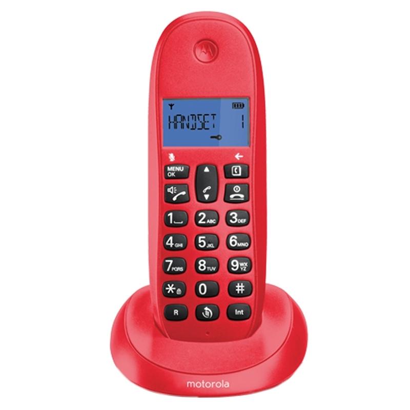 MOTOROLA C1001 LB+ Telefono DECT Cereza
