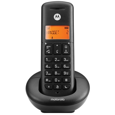 MOTOROLA E201 Telefono DECT Call Blocking