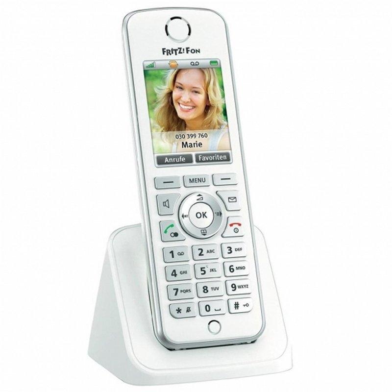 FRITZ! Fon C4 Telefono DECT Blanco