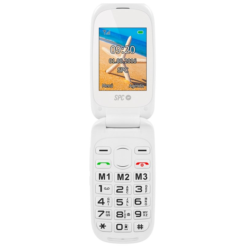SPC 2304B Harmony Telefono Movil BT FM + Dock Blan