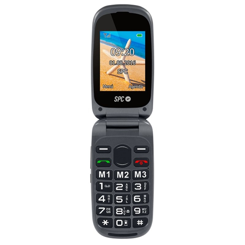 SPC 2304N Harmony Telefono Movil BT FM + Dock Negr