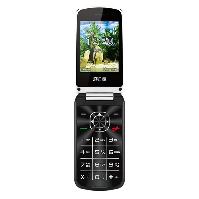 SPC 2315N Epic Telefono Movil BT FM Negro