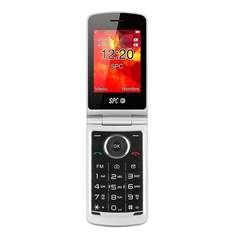 SPC 2318N Opal Telefono Movil BT FM Negro