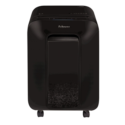 FELLOWES DESTRUCTORA LX201 NEGRA MICROCORT  2X12MM