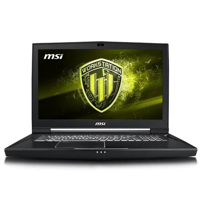 MSI WT75-222ES i7-9700K 64GB 1SSD P3200 W10P 17