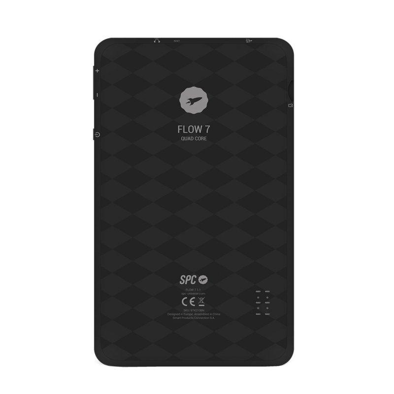 """SPC Tablet 7"""" IPS 9742108N Flow QC 8GB Negra"""