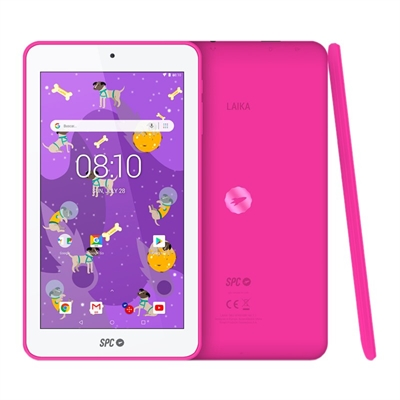 "SPC Tablet 7"" QC Laika 1GB RAM 8GB Interna Rosa"
