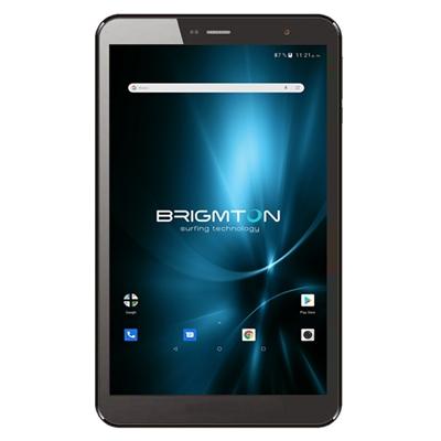 """Brimgton Tablet 8"""" IPS HD QC BTPC801 Negro+funda"""