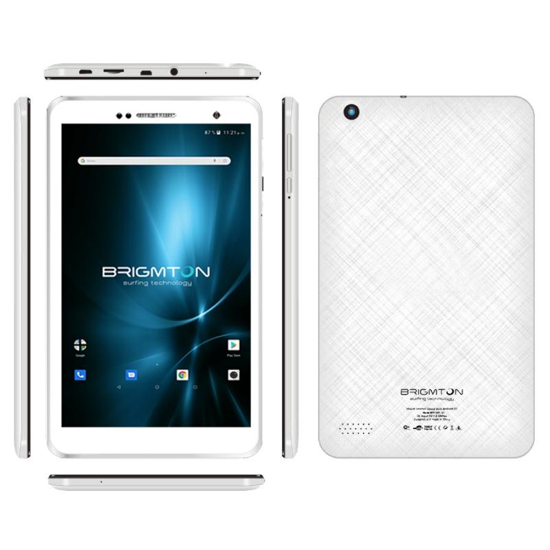 "Brimgton Tablet 8"" IPS HD QC BTPC801 blanca+funda"