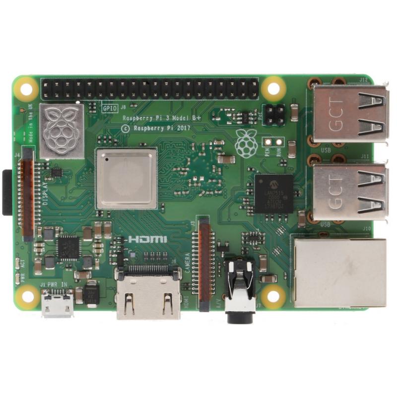 Raspberry Pi 3 TYPE B+ ARM 1GB 4xUSB HDMI Wifi BT