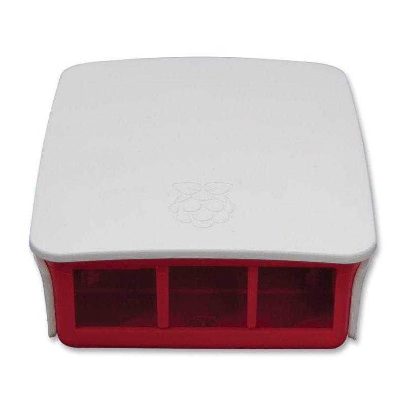 Raspberry Pi Caja Type 3 Blanca/Roja oficial