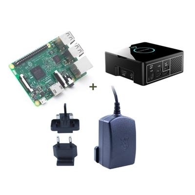 Raspberry kit Pi 3 + Desktop + fuente