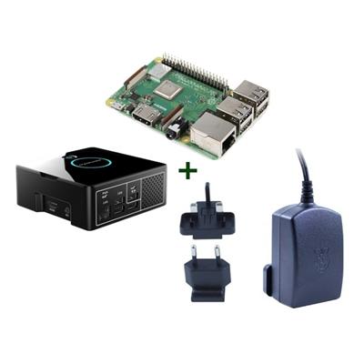 Raspberry kit Pi 3 B+ + Desktop + fuente