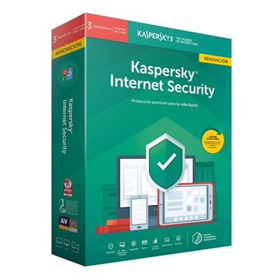 Kaspersky Internet Security MD 2019 3L/1A RN