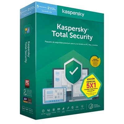 Kaspersky Total Security MD 2020 5L/1A