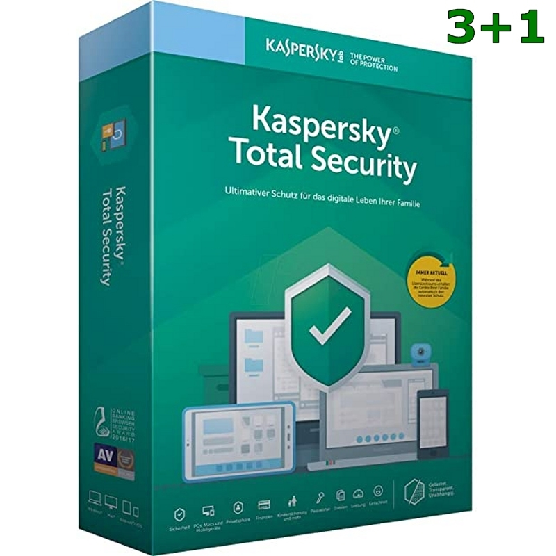 Kaspersky Total Security MD 2020 5L/1A PROMO 3+1