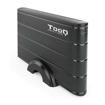 Caja Externa Tooq Usb 3.5 Sata 3.0 Negro TQE-3530B