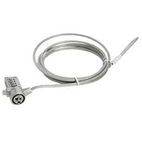 Gembird Cable de Seguridad Portátiles (4 dígitos)