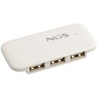 NGS iHub4 HUB 4 puertos USB 2.0 sin alimentador