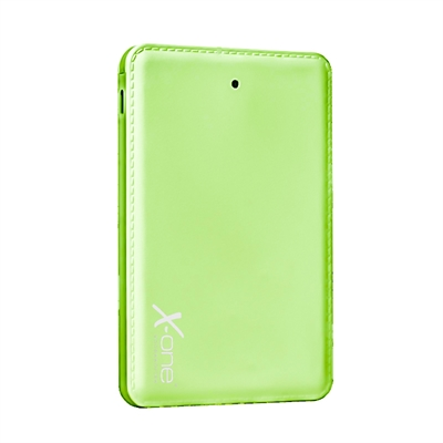 X-One PB3000GR PowerBank 3000mAh 3en1 Verde