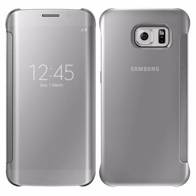 X-One Funda Libro View Samsung S8 Plus Plateado