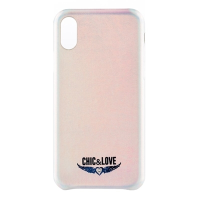 Chic&Love Carcasa iPhone X-XS Tornasolado