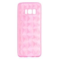 X-One Funda Diamante 3D Samsung S8 Rosa