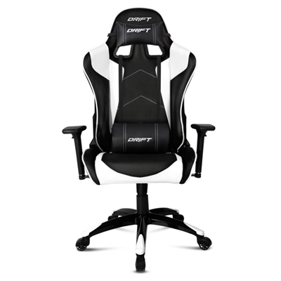 SILLA GAMING DRIFT DR300 NEGRO/BLANCO
