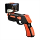 Omega Pistola Bluetooth Gaming Negro+Naranja