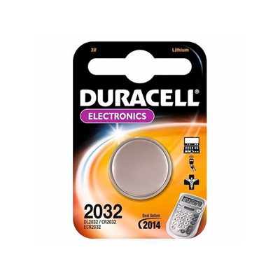 Duracell Pila Botón Litio CR2032 3V Blister*1