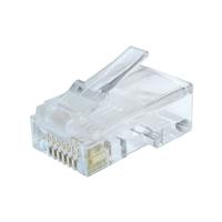 iggual Conector RJ45 Cat.6 UTP Sólidos (50 uds.)