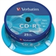 Verbatim CD-R 700MB 52x Tarrina 25Uds