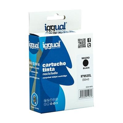 iggual Cartucho Reciclado HP Nº 953XL L0S70AE Negr