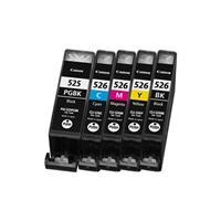 INKOEM Cartucho Compatible Canon CLI526BK Negro