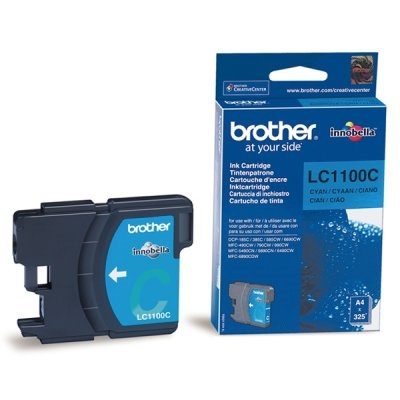 Brother LC-1100C - cián - original - cartucho de tinta