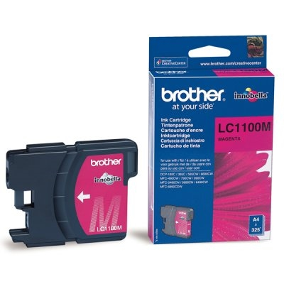Brother LC1100M - magenta - original - cartucho de tinta