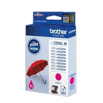 Brother LC-225XLMBP - Alto rendimiento - magenta - original - cartucho de tinta