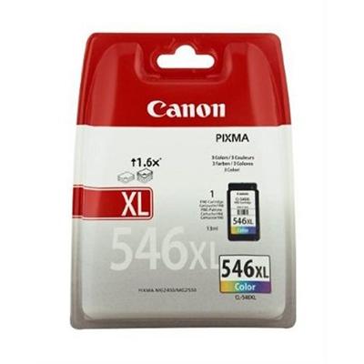 Canon CL-546XL - Alto rendimiento - color (cian, magenta, amarillo) - original - cartucho de tinta