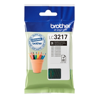 Brother LC3217BK - negro - original - cartucho de tinta