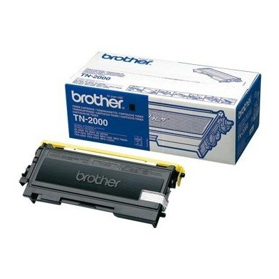 Brother TN-2000 - negro - original - cartucho de tóner