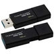 Kingston DataTraveler DT100G3 16GB USB 3.0 Negro